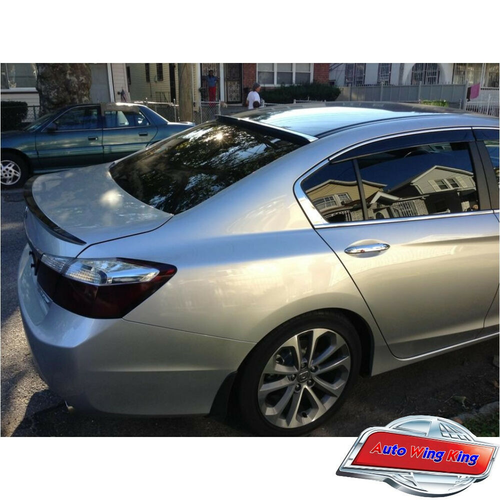 Painted L Roof Wing + OE Type Trunk Spoiler For Honda ...