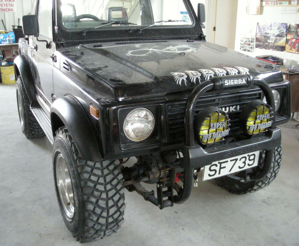 Suzuki Samurai Off Road Tires