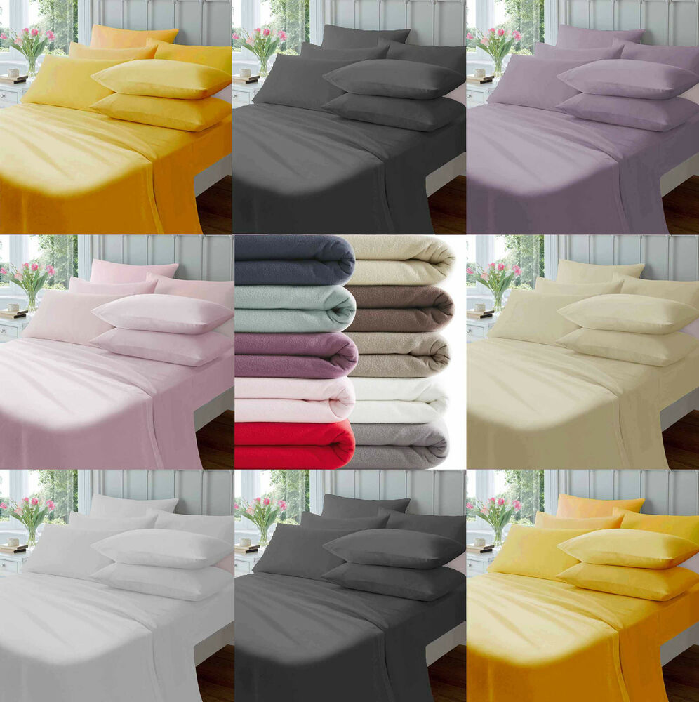 Thermal flannelette 100 brushed cotton fitted flat sheet How to put a fitted sheet on a bed