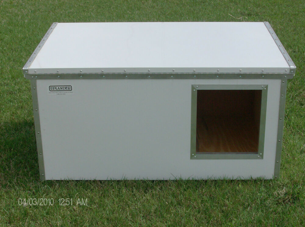 Lifesaver insulated dog house kit 45quot x 30quot ebay for Insulated dog house for sale