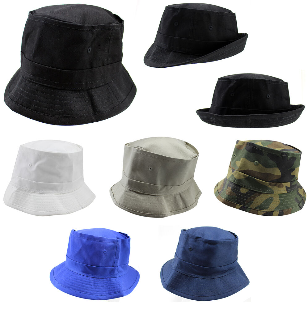 Bucket hat camping fishing cap boonie boating outdoor sun for Fishing sun hat