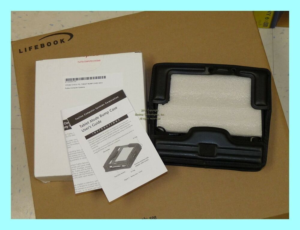 Brand New Fujitsu Bump Case 4 LifeBook U810 U1010 FPCCC89 Tablet ...