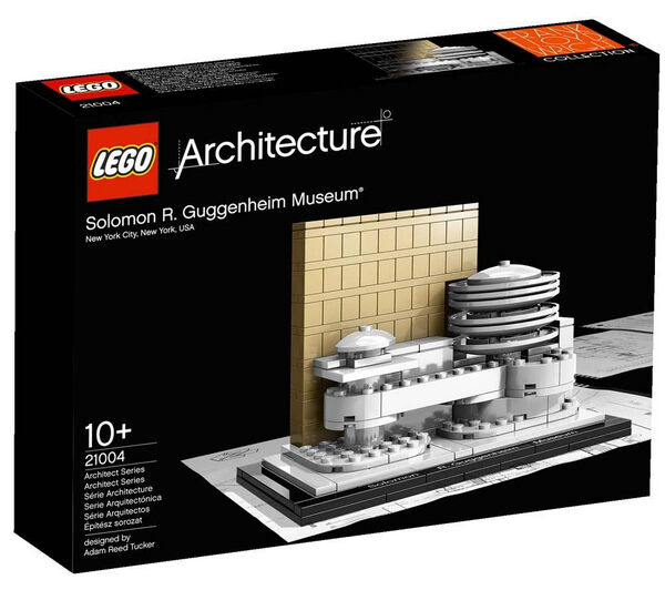 21004 lego architecture solomon r guggenheim museum new york retired