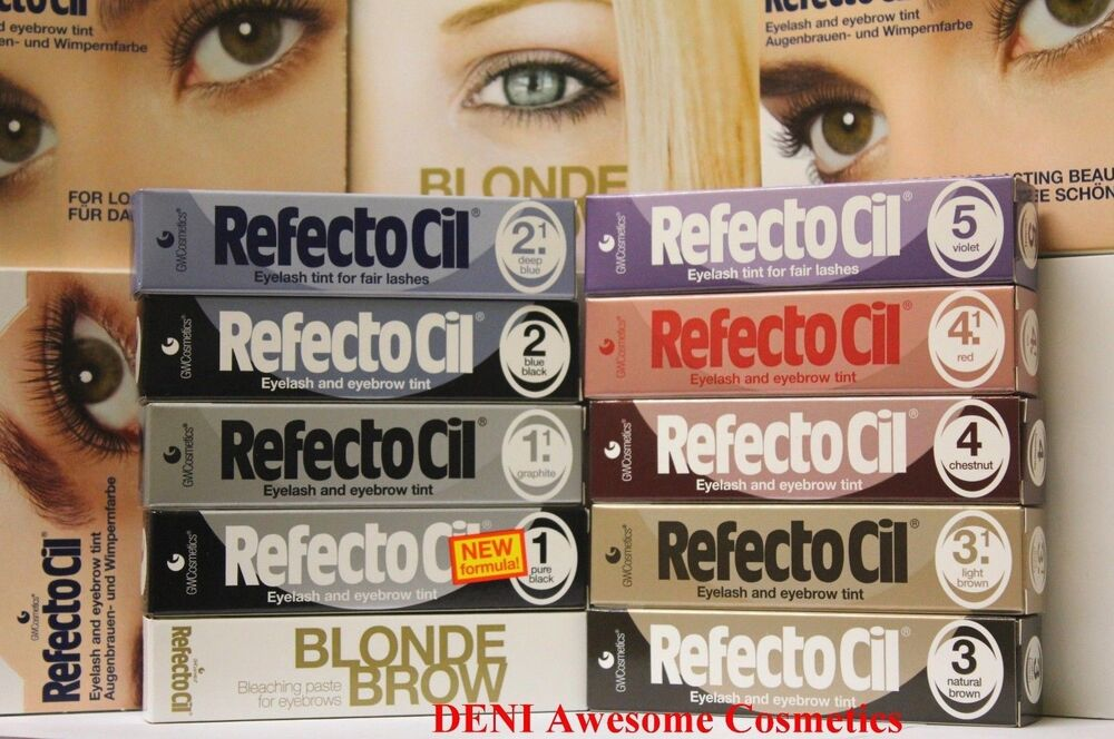 The Best Price Refectocil Color Eyelash Eyebrow Tint Choose