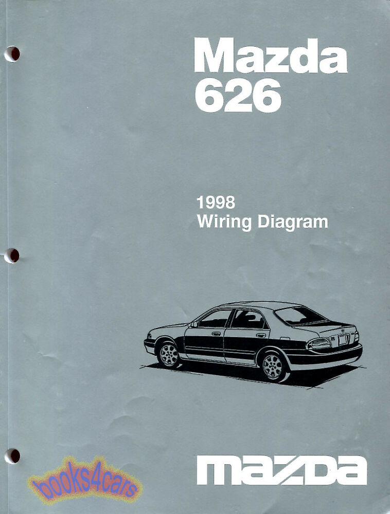 Mazda 626 Shop Manual Service Repair Book 1998 Electrical