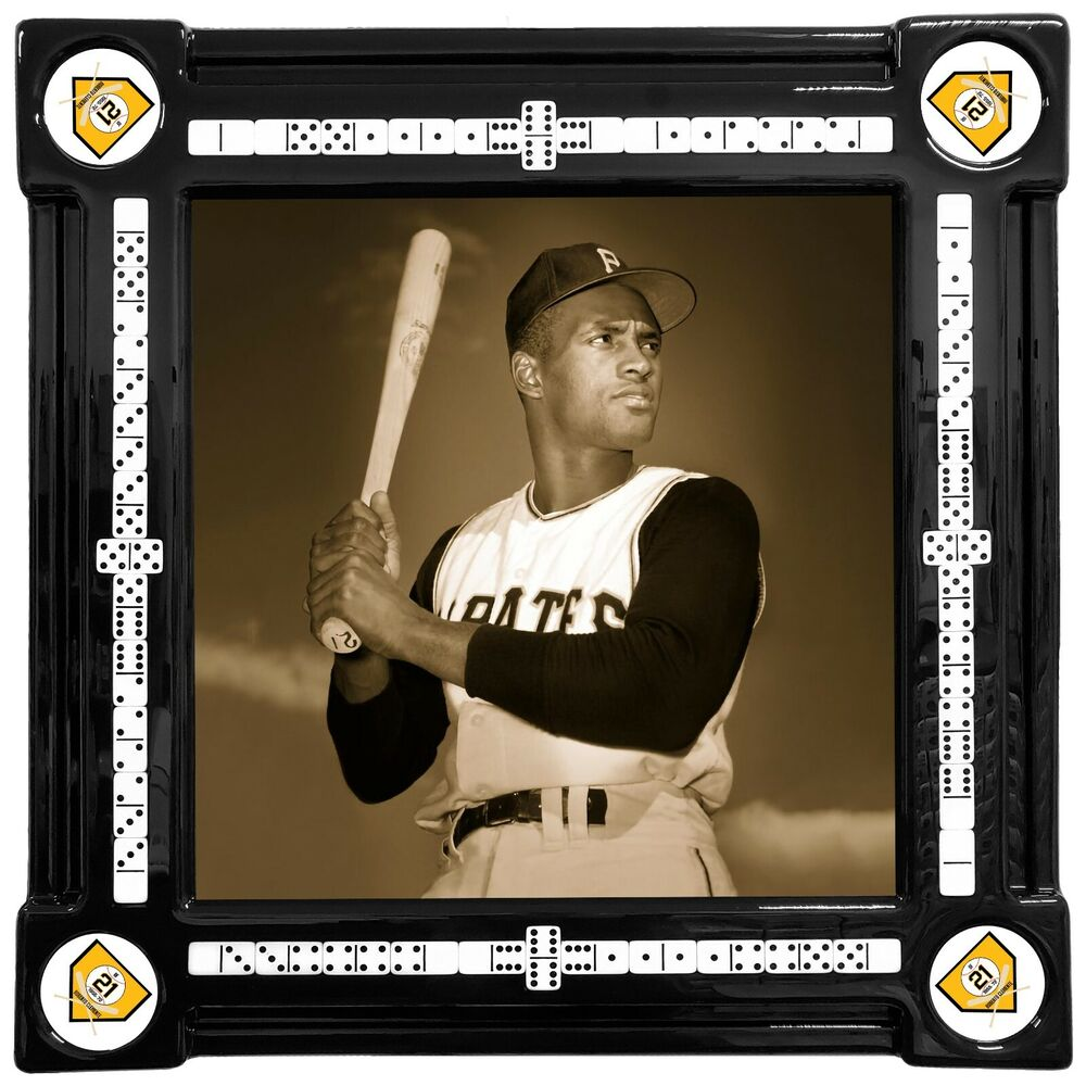 Roberto clemente domino table by domino tables by art ebay - Domino table de multiplication ...
