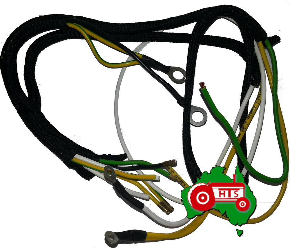 Tractor Wiring Harness Massey Ferguson Te20 Ted20 Tea20 Fergy Petrol T20 Diagram Ebay