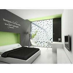 Psalms 118:24 bible quote   vinyl wall decal quote