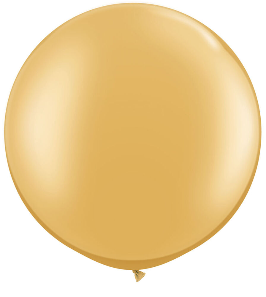 Qualatex 30 quot metallic gold large round balloon wedding party decor prop ebay
