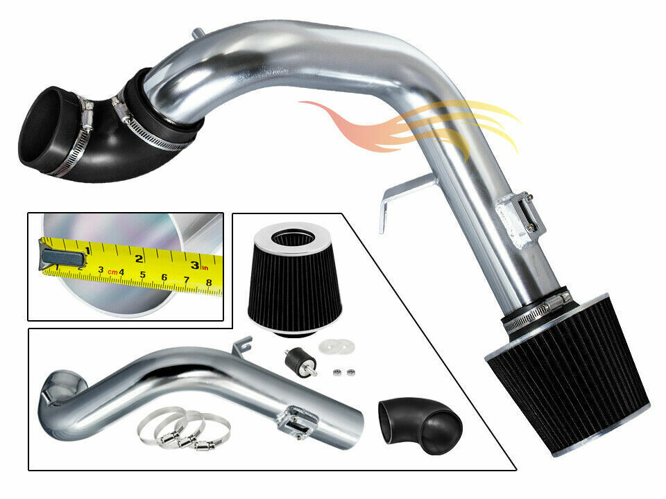 Cold Air Intake Kit BLACK Filter For 05 07 Chevy Cobalt