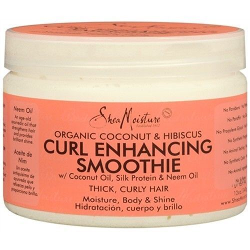 ... Organic Curl Enhancing Smoothie Coconut Hibiscus Thick Curly eBay