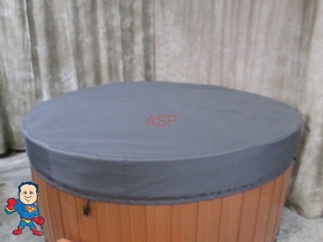 """Leisure Bay Spas >> Spa Hot Tub CoverCap® Cover Cap 84"""" Round Nordic 82-86"""" Made in USA Video How To 