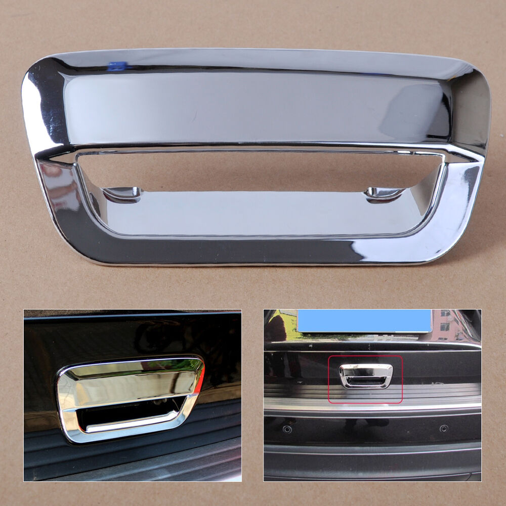 For Jeep Grand Cherokee 2011 2014 Chrome Rear Door Handle Bowl Cover Trim Ebay