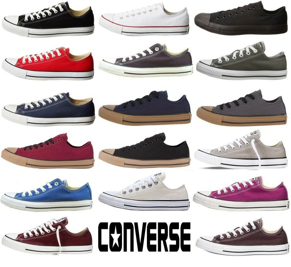 converse chuck taylor all star low top shoes canvas. Black Bedroom Furniture Sets. Home Design Ideas