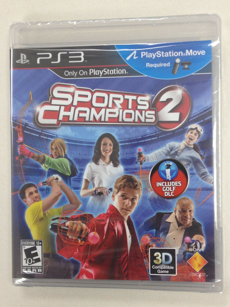 Sports Games For Ps3 : Sports champions move sony playstation ps games