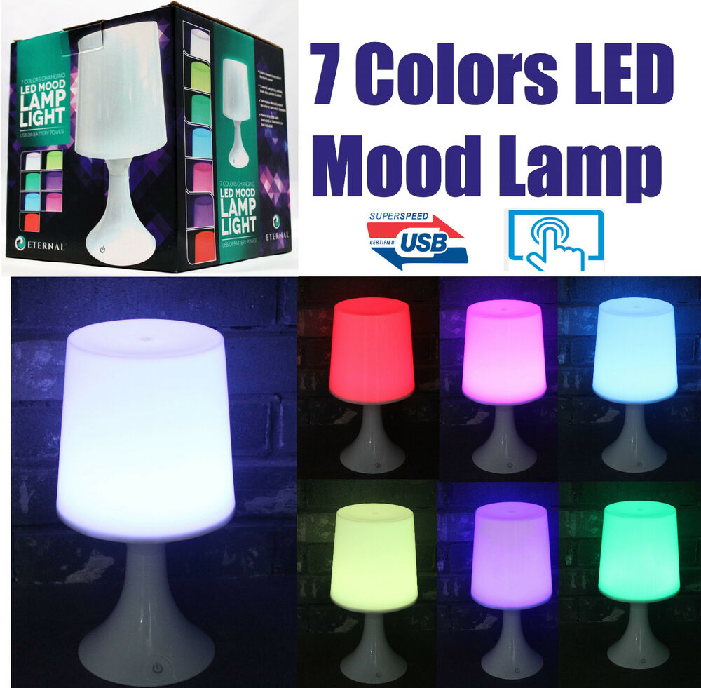 Bedroom Colors Pictures Mood Lighting Bedroom Classic Bedroom Ceiling Design Bedroom Ideas Hgtv: Touch 7 Colors Changing LED Mood Lamp Night Lights Kids