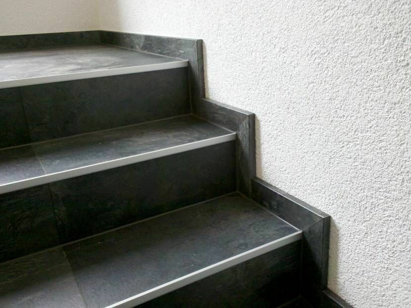 treppe treppen treppenprofil renovierung stufen tsp1 alu silber ebay. Black Bedroom Furniture Sets. Home Design Ideas