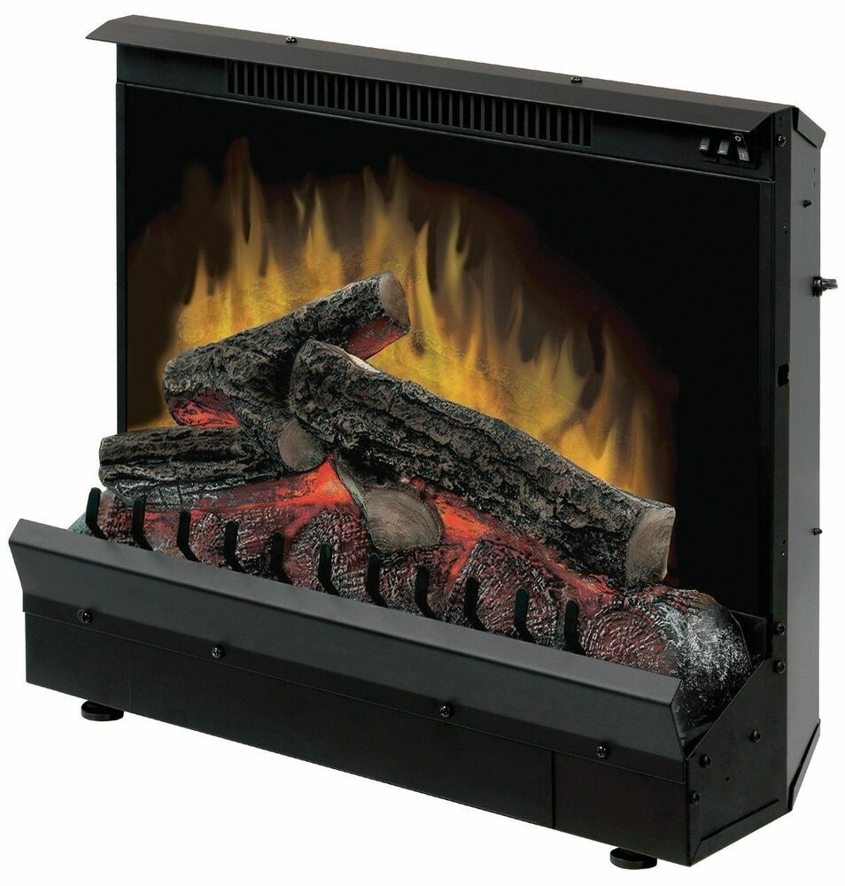New Dimplex 23 Quot Electric Lighted Fireplace Insert Heater