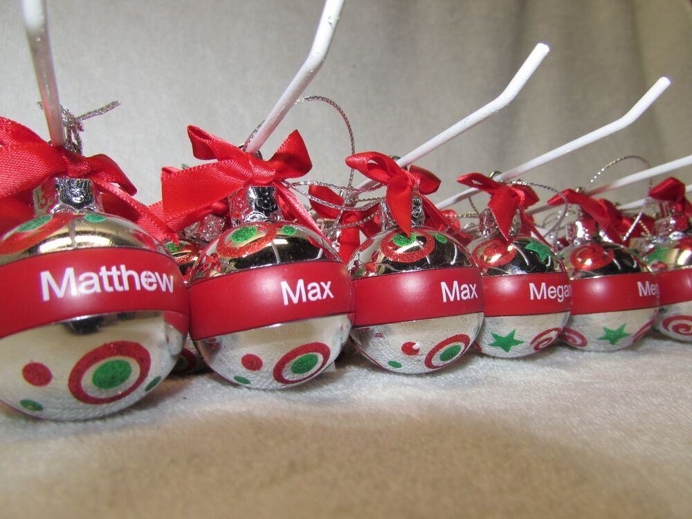 Ganz Personalized Christmas Holiday Ball Ornament You