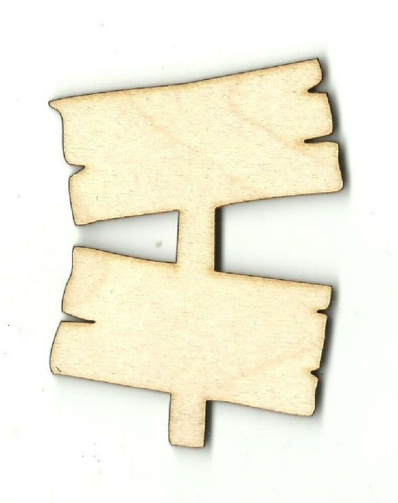2 piece signs unfinished wood shape craft laser cut out for Unfinished wood pieces for crafts