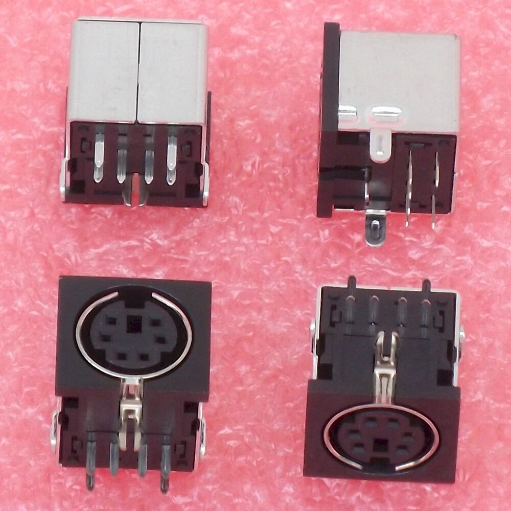 12 215 Ps 2 Jack 6 Pin Mini Din Socket Female Connector