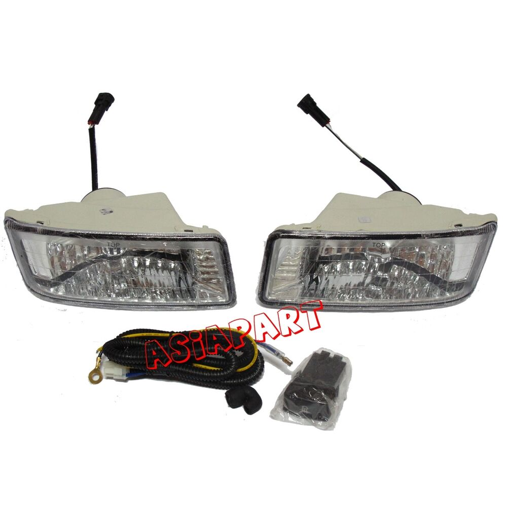 Front Fog Spot Light Lamp Kits For Isuzu Dmax Pickup 2003