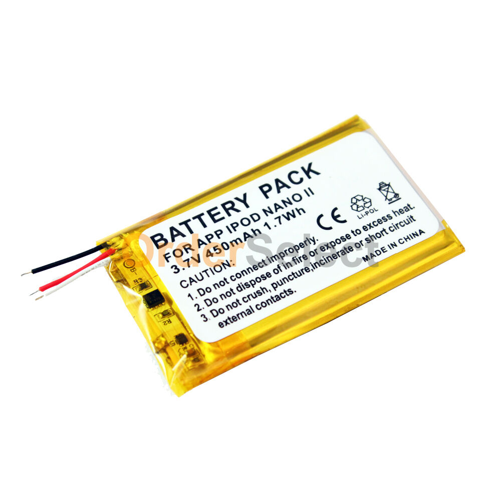 Battery For Ipod : New replacement battery mah for apple ipod nano nd
