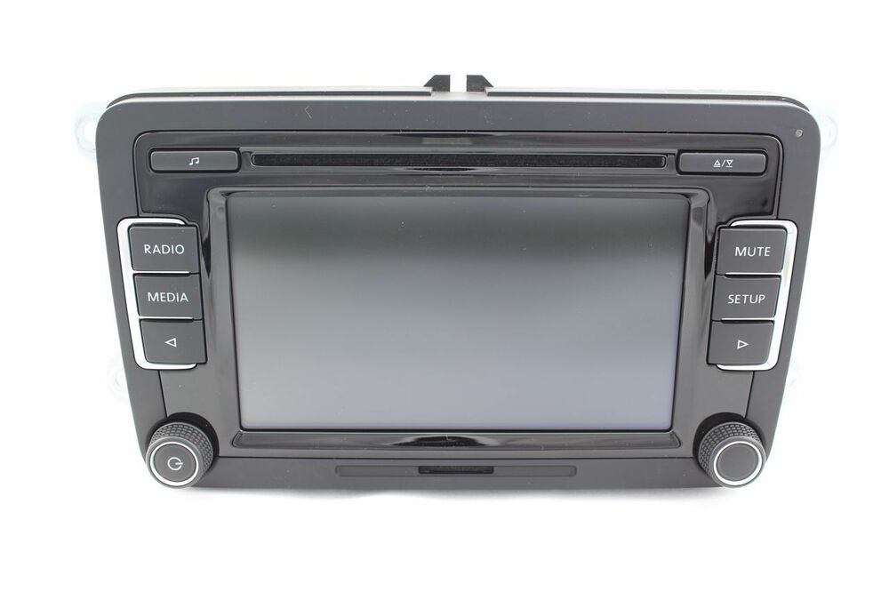 volkswagen rcd 510 oem original vw radio cd mp3 player. Black Bedroom Furniture Sets. Home Design Ideas