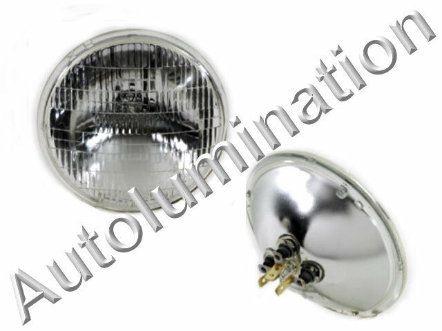 New 4000 12 Volt Sealed Dual Beam Headlight 5 3 4 Quot Par46