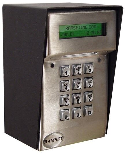 ramset keypad lcd kp keyless entry system gate openers digital keypad operator ebay. Black Bedroom Furniture Sets. Home Design Ideas