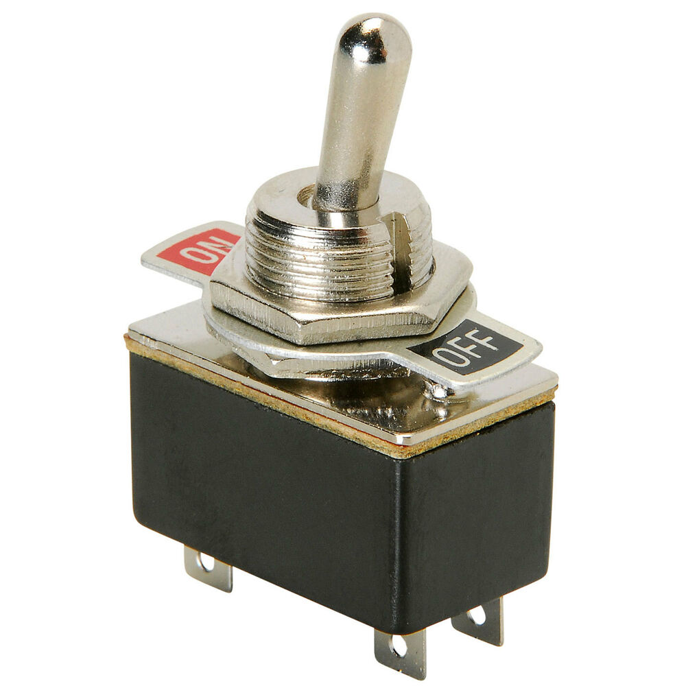 DPST Light Duty Toggle Switch | eBay