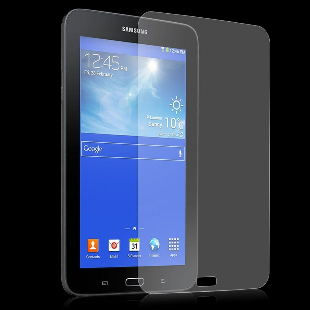 clear hd screen protector shield for samsung galaxy tab 3 lite 7 0 sm t110 t111 ebay. Black Bedroom Furniture Sets. Home Design Ideas