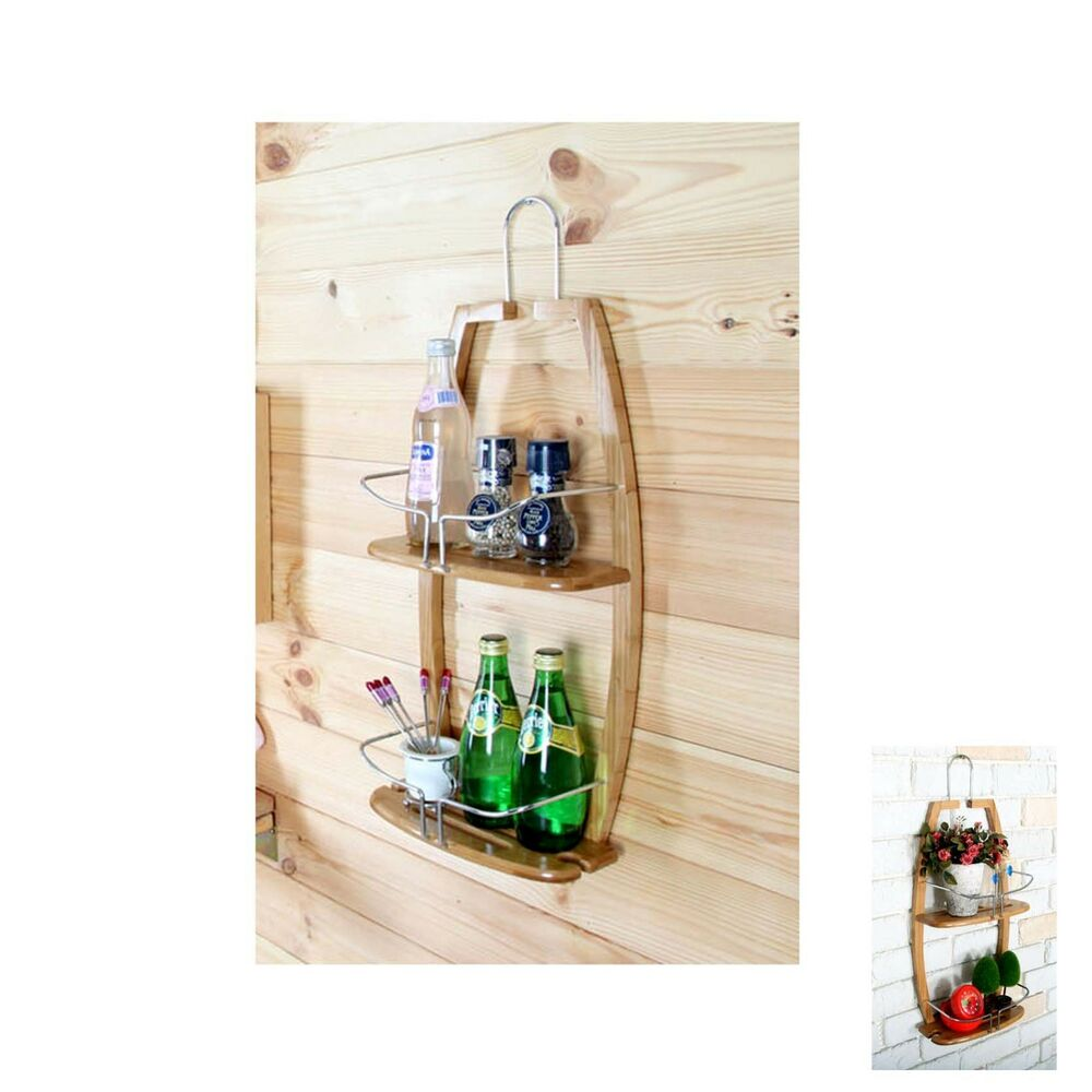 wall organizers for kitchen new decorative bamboo rack kitchen organizer wall holder 6956