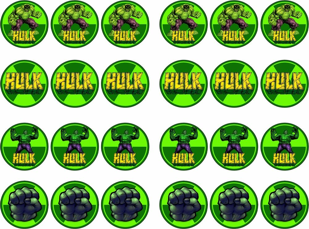 Hulk Cake Toppers Uk