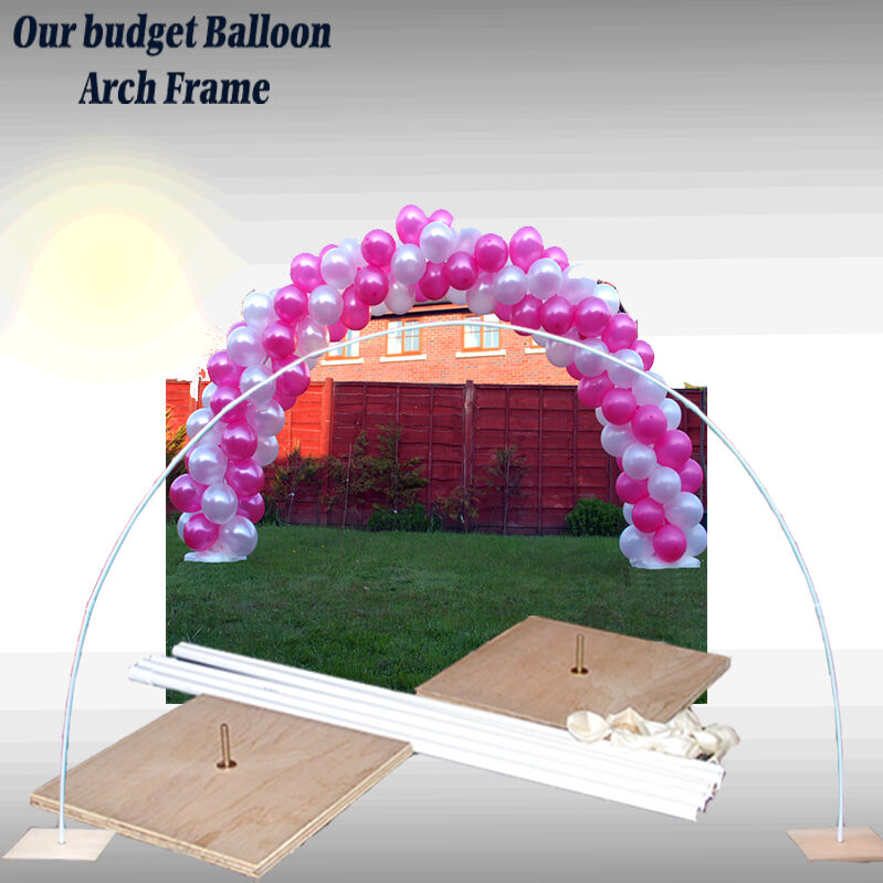 LARGE WEDDING & ALL OCCASIONS BALLOON ARCH FRAME X 2 AIR FILLED ...