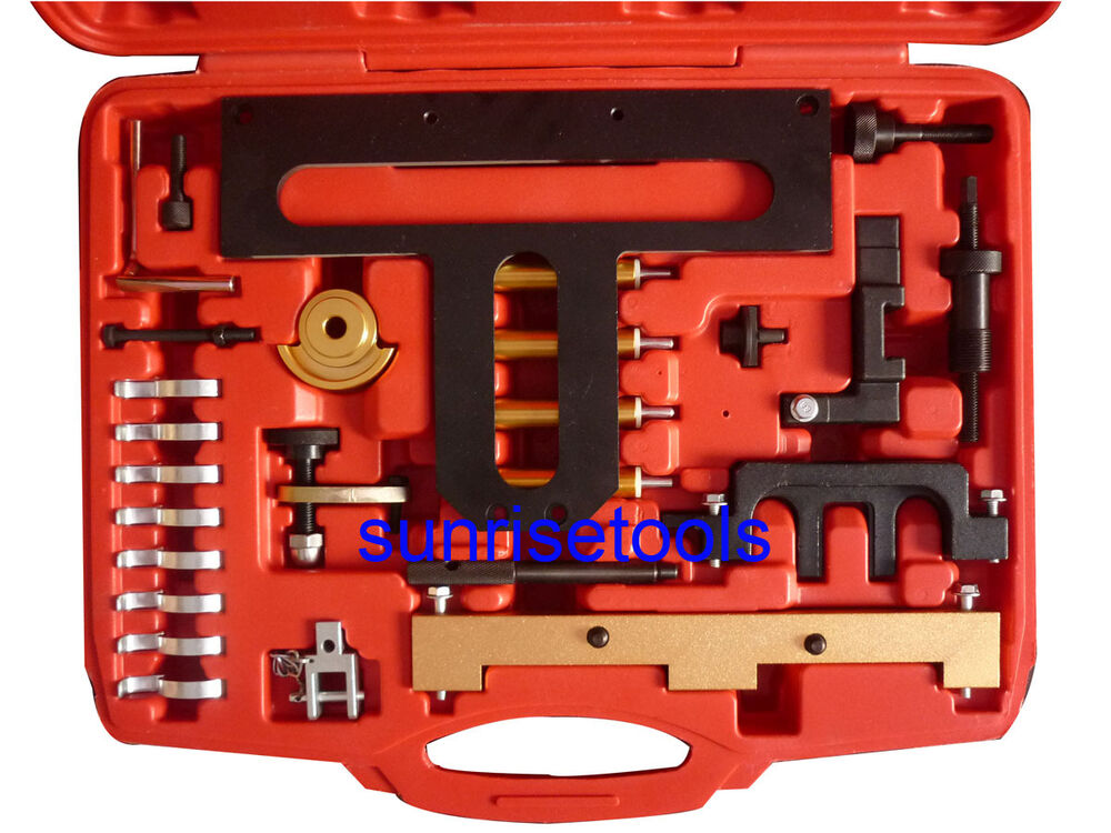 Engine Timing Adjustment Tool Kit For 26pc Bmw N42 N46 Ebay