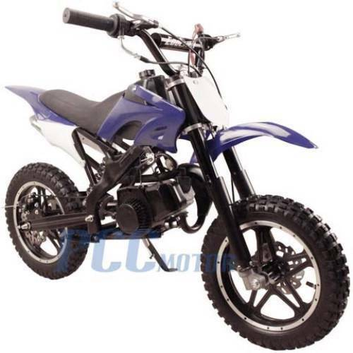 free shipping kids 49cc 2 stroke gas motor dirt mini pocket bike blue i db50x ebay. Black Bedroom Furniture Sets. Home Design Ideas