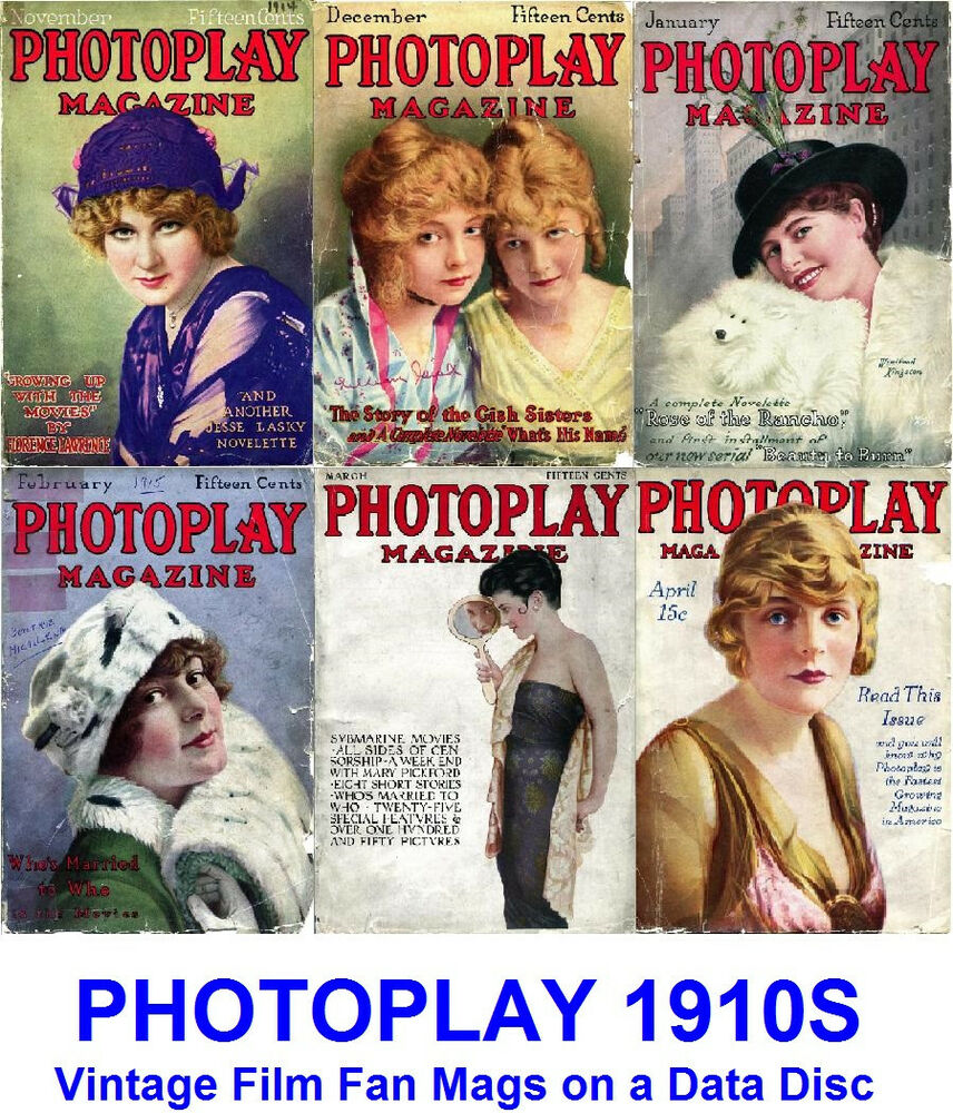 photoplay 1910s vintage collection film movie screen. Black Bedroom Furniture Sets. Home Design Ideas