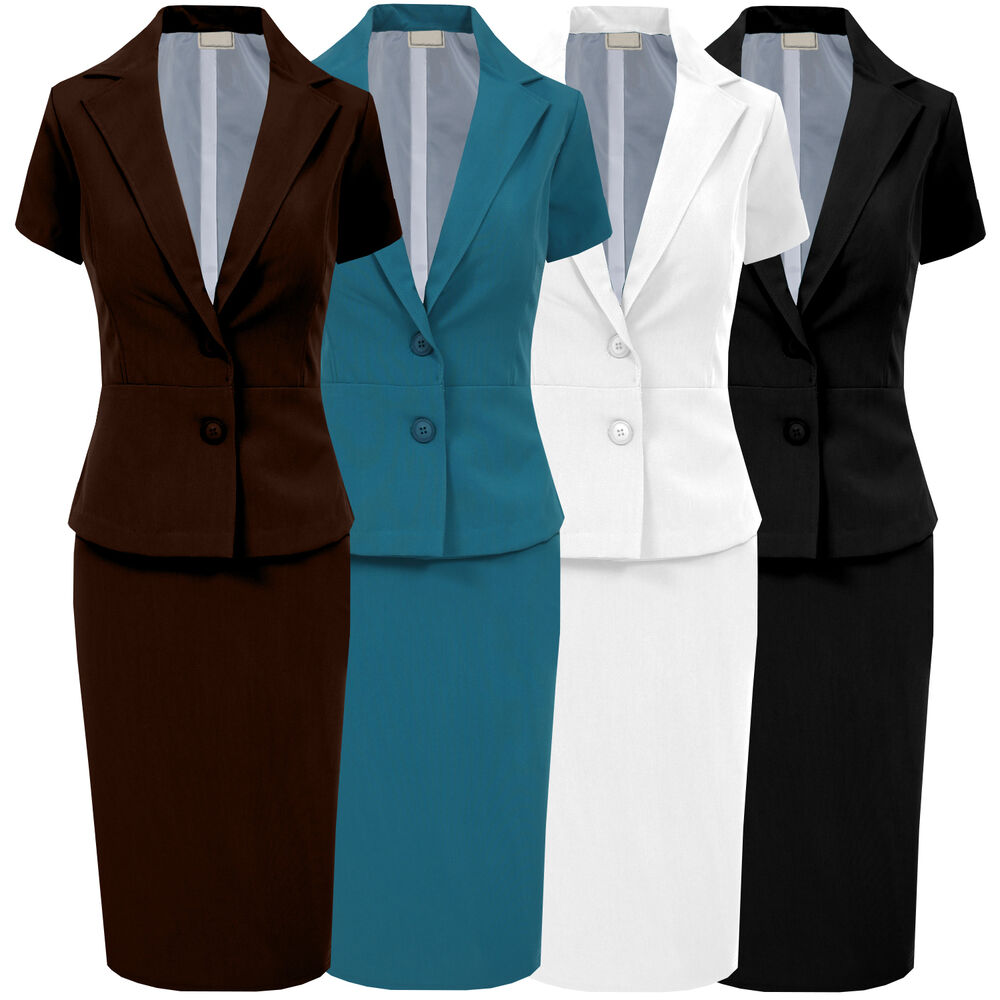 Women's Office Lady Short Sleeve Business One Button Blazer Jacket. from $ 17 5 out of 5 stars 3. SASSY APPAREL. Women Classic Fit Lapel Peplum OL Business Short Sleeve Suit Blazer Jacket. from $ 18 CJ. Women Short Sleeve Floral Lace Shrug Open Front Bolero Cardigan Crop Jacket (S-XXL) from $ 5 99 Prime. out of 5 stars 7.