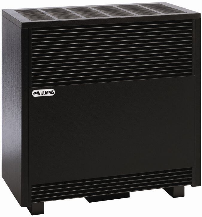 Williams 5001522a 50 000 Btu Enclosed Front Console Vented Room Heater Ng Ebay