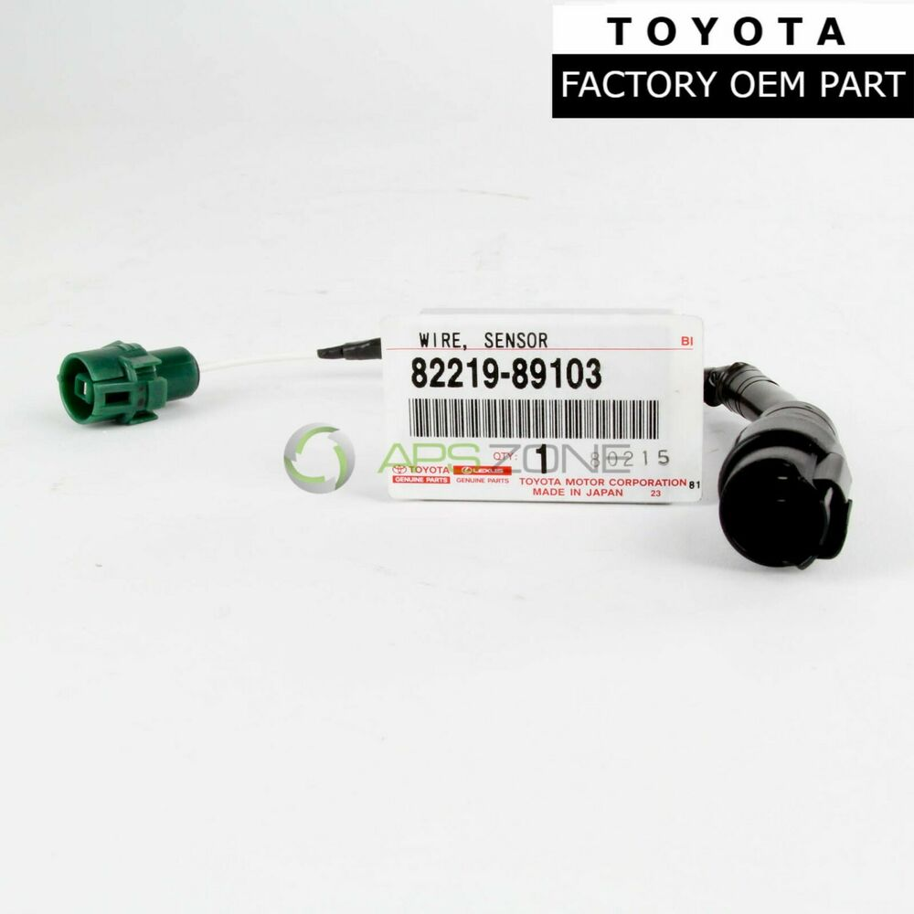 genuine toyota 3 0l 4runner  pickup 88 92 knock sensor trailer wiring harness for toyota 4runner Toyota Tundra Rear ABS Sensor Wiring Harness