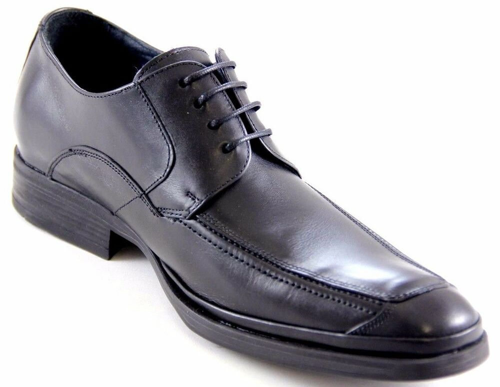 fluchos s black leather made in spain oxfords shoes
