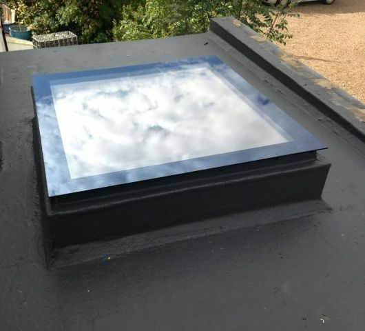 Manual Opening Flat Roof Window Skylight Rooflight Triple ...