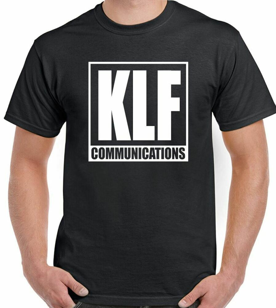 The klf communications mens album t shirt 90 39 s rave acid for Acid house 90s