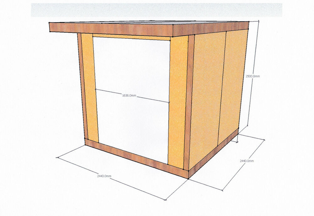 Insulated garden studio office room pod diy self build kit Buy sips panels