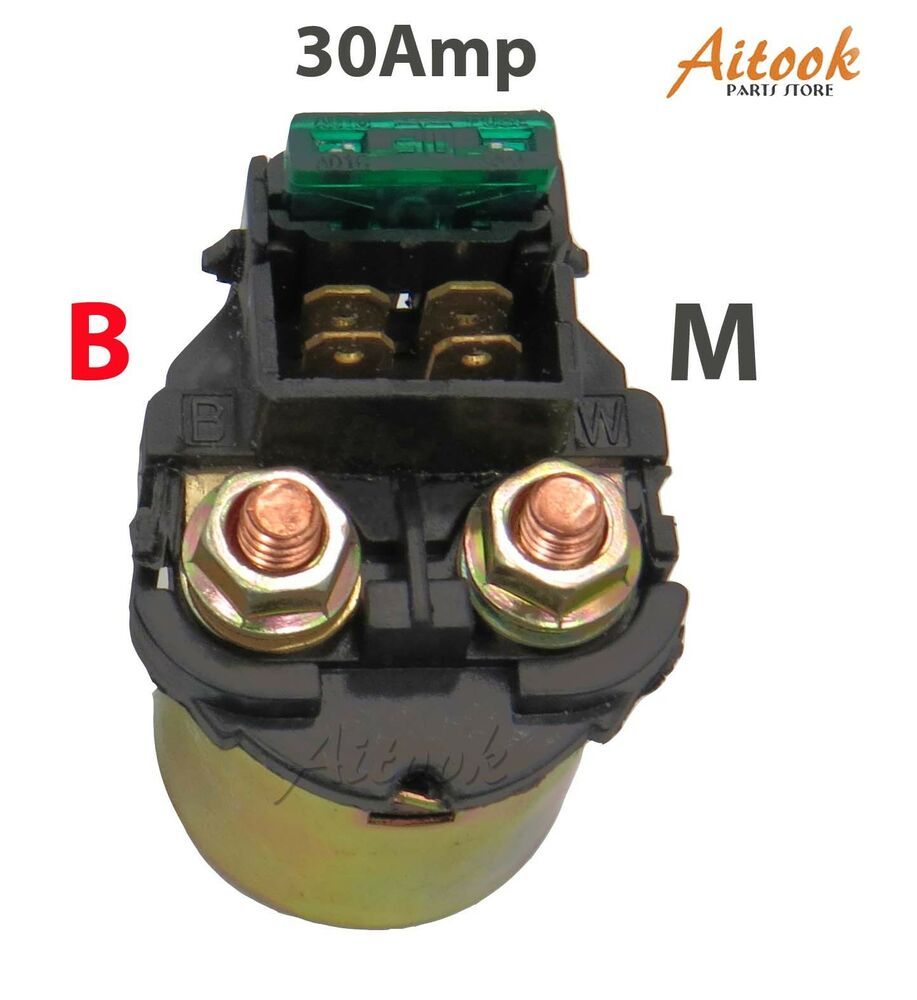 Starter Relay Solenoid With Wires Honda Shadow 700 Vt700 1984 1987 Wiring Motorcycle