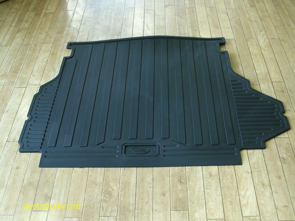 new genuine range rover l322 rubber load boot mat. Black Bedroom Furniture Sets. Home Design Ideas