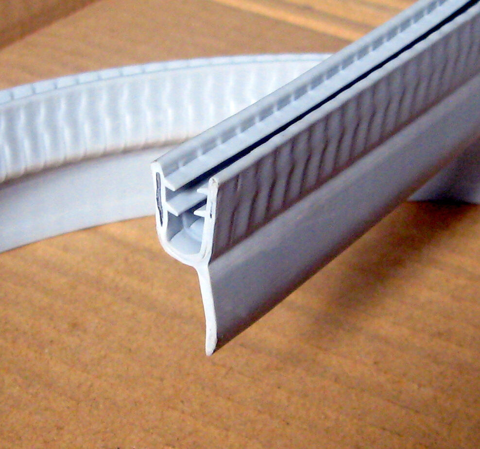 1950mm Extra Long Bath Shower Rubber Seal For 4 6mm Glass Screen Door Panel Ebay
