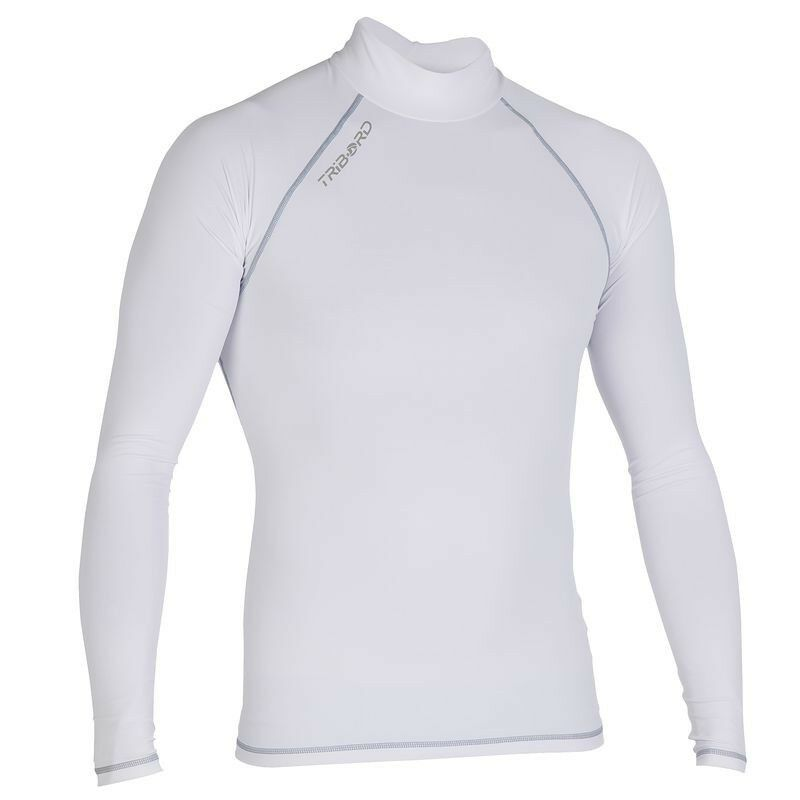 Us warehouse tribord mens sun uv protection long sleeve for Uv protection t shirt