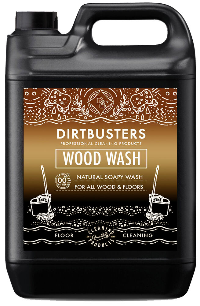 Dirtbusters eco wood floor cleaner soapy solution for all for Bona wood floor cleaner 5l